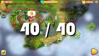 All 40 Chests Founded Walkthrough - Gardenscapes - Investigation in the Park - Chapter 2 screenshot 4