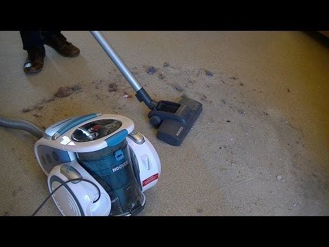 Hoover A2 Idol Bagless Cylinder Vacuum Cleaner Review & Demonstration