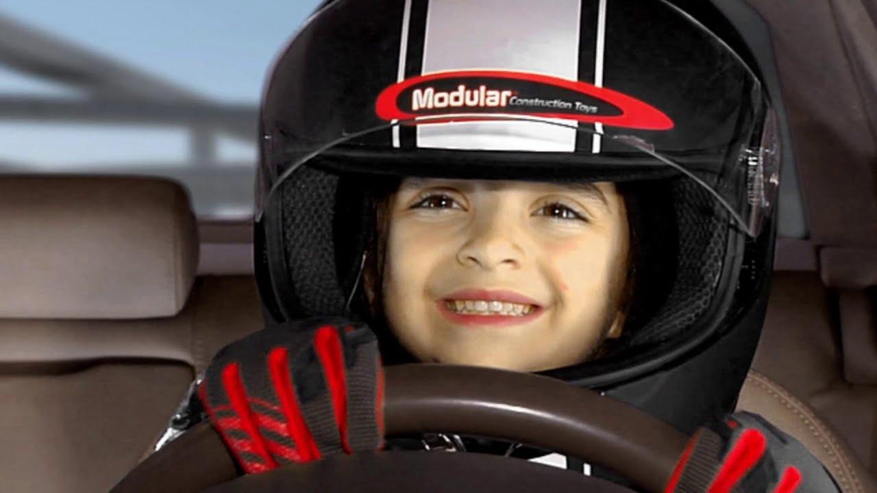 kids car racing modular construction toys youtube