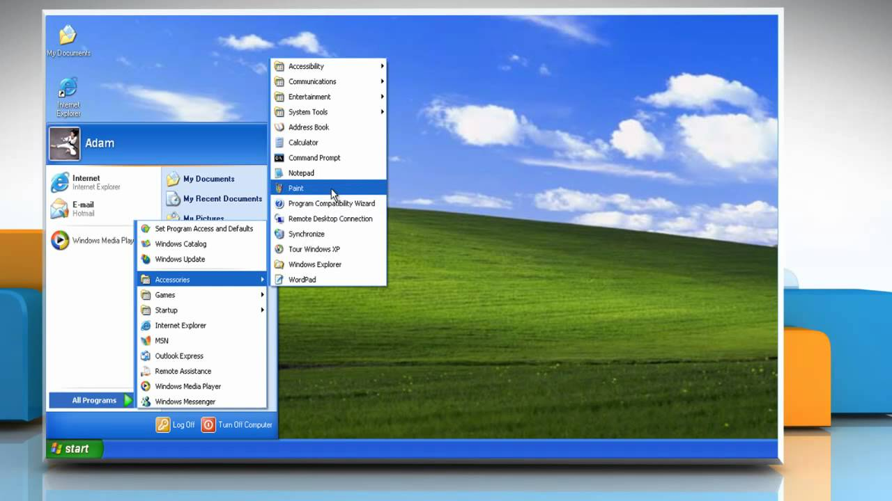 How to use the On-screen (virtual) Keyboard in Windows® XP ...