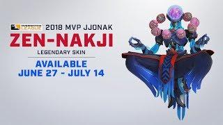 Jjonak's 2018 MVP Skin | Overwatch League