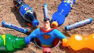 Coca Cola, Fanta, Sprite vs Mentos - Underground