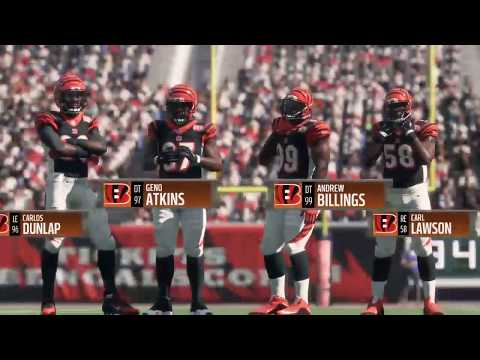 Madden 18 - Cleveland Browns vs Cincinnati Bengals  - Full Game Simulation Nation