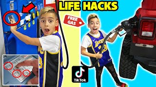 We Tested VIRAL TikTok LIFE HACKS... (OMG!!) *Part 3* | The Royalty Family