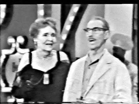 "Hollywood Palace 2-28 Groucho Marx (host): ""Animal Crackers"" with Margaret Dumont; Melinda Marx"