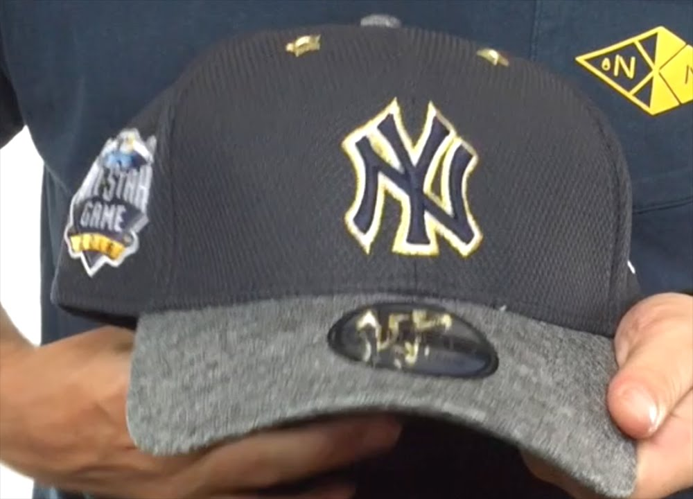 Yankees  2016 MLB ALL-STAR GAME FLEX  Hat by New Era - YouTube d8724ae50edf