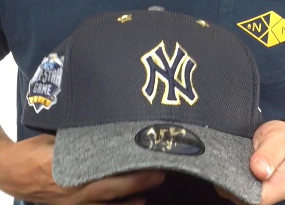 9425182fd50 Yankees  2016 MLB ALL-STAR GAME FLEX  Hat by New Era - YouTube
