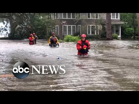 Irma slams Jacksonville with historic flooding