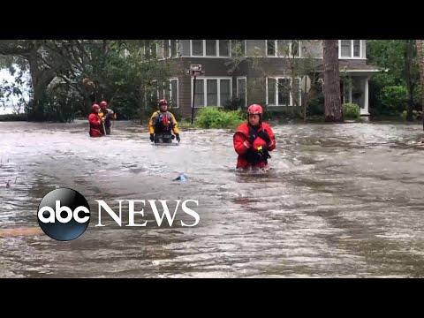 Irma slams Jacksonville with historic flooding