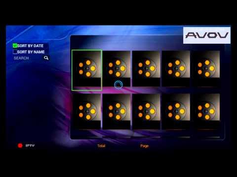 AVOV VIXO 2 - IPTV/TVOnline App Overview