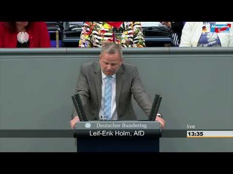 """""""Nord Stream 2 durchsetzen!"""" - Leif-Erik Holm - AfD-Fraktion im Bundestag"""