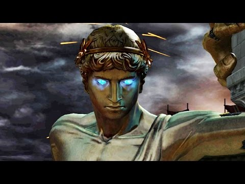 God Of War 2: Colossus Of Rhodes Boss Fight (4K 60fps)