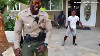 WATCH:  LA Deputy Has Epic Dance Off After Accidental 911 Call