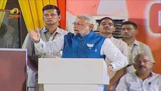 Narendra Modi Full Speech In Hyderabad - Pawan Kalyan, Chandrababu Naidu - Bharat Vijay Rally
