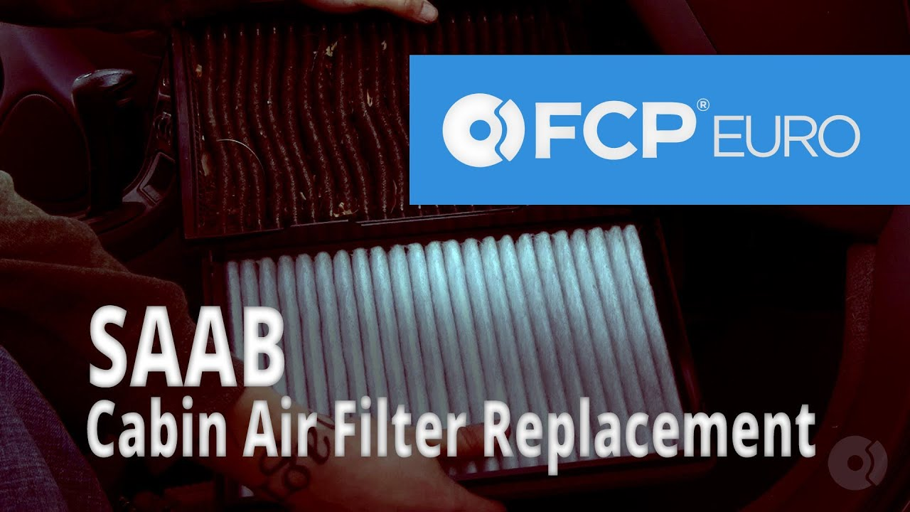 Saab Cabin Air Filter Replacement (9-5 Arc 3 0L Turbo, Mann Filters)