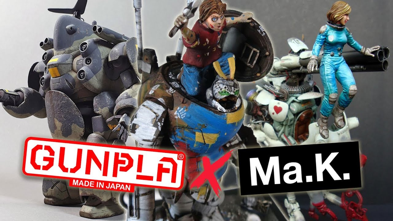 Ma K  in Gundam Contest Winners Announced!
