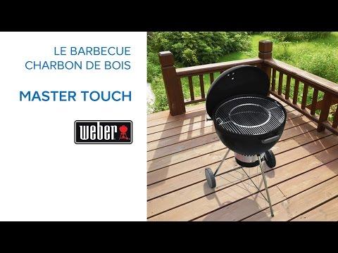 barbecue charbon de bois master touch weber 681349 castorama. Black Bedroom Furniture Sets. Home Design Ideas