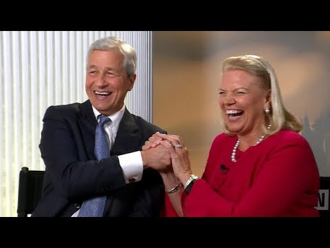 JPMorgan Chase and IBM CEOs on need for tax reform, solving DACA