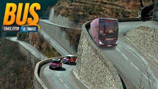 DANGEROUS BUS DRIVING ON BEAUTIFUL ROUTE OF NORTH INDIA BUS SIMULATOR ULTIMATE GAMEPLAY 2021 screenshot 5