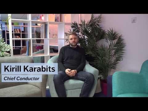 A personal message from Kirill Karabits