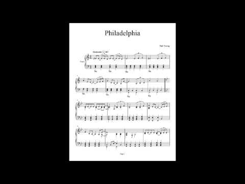Philadelphia - Neil Young - Piano