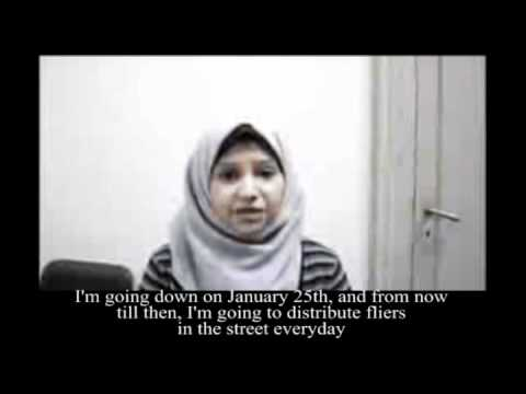 Meet Asmaa Mahfouz and the vlog that Helped Spark the Revolution (fixed subs)