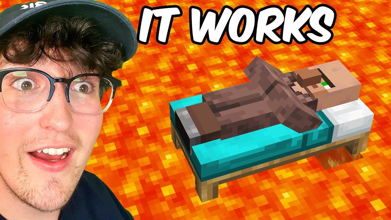 Testing Viral Minecraft Hacks That Work 100%