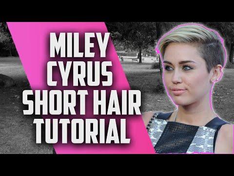 Miley Cyrus Inspired Hair Tutorial - JesseMinty.com