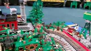 Lego Thomas The Tank Engine Island Of Sodor Display
