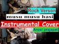 Musu Musu Hasi Instrumental - (cover ) Rock Version By Aneel Prajapati