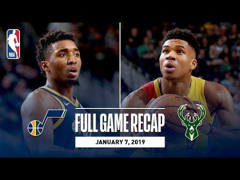 Full Game Recap: Jazz vs Bucks | Giannis Goes For 30 & 10