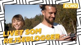 Karoline og Rasmus lever det søde liv som rejsebloggere