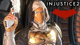 """Injustice 2 - red hood gameplay """"no fear"""" multiverse event (xbox one)"""