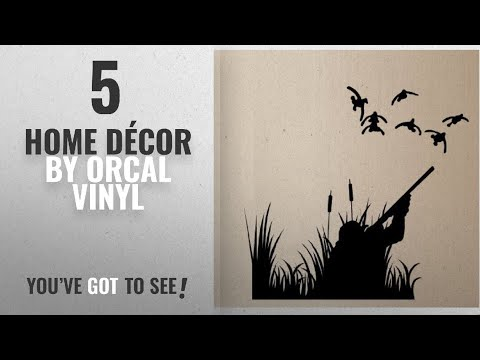 Top 10 Home Décor By Orcal Vinyl [ Winter 2018 ]: DUCK HUNTING DUCKS OUTDOOR VINYL WALL DECAL