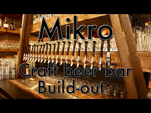 """Mikro - craft beer """"Railroad bar"""" build out"""