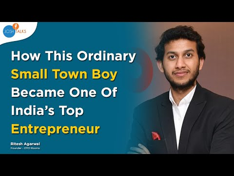 How I Built A Billion Dollar Company From Scratch? | Ritesh Agarwal (OYO Rooms)
