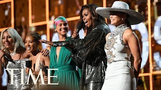 Michelle Obama Brought The Crowd To Their Feet At The 2019 Grammys | TIME
