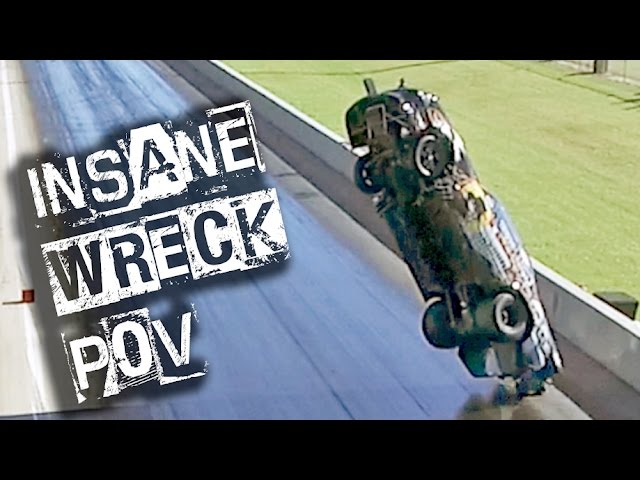 EPIC WRECK Drone Footage - 300ft Mustang FLIGHT!!!