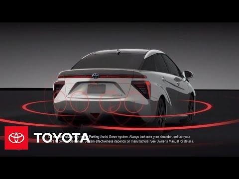The Toyota Mirai l Parking Assist   Toyota