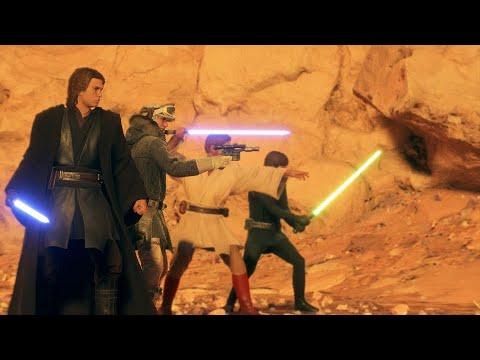 Star Wars Battlefront 2 Heroes Vs Villains 1057 Anakin MVP Close Game thumbnail