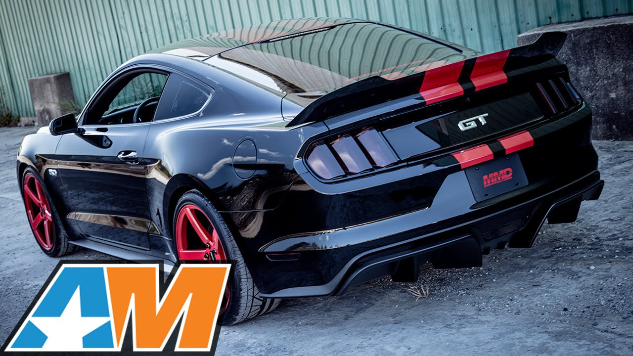 All Types gt 2015 mustang : MMD Builds CRAZY 2015 Mustang GT for SEMA 2014! - YouTube