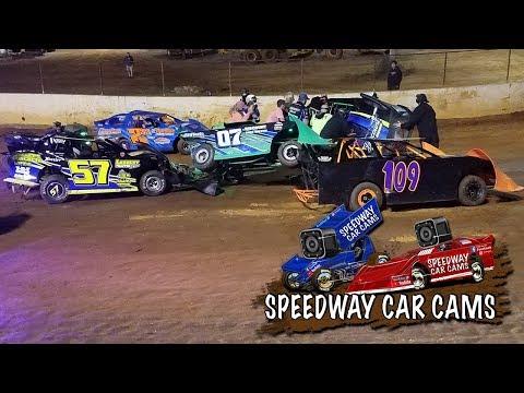#08 Wyatt Sopha - Flip Wreck - Mini Late Model - 10-13-17 Crossville Speedway - In Car Camera