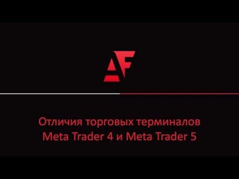 Отличия торгового терминала Forex: Meta Trader 4 и Meta Trader 5