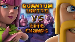 Clash Of Clans Magyarul | Clan War with Quantum United #8 | Elite Champs