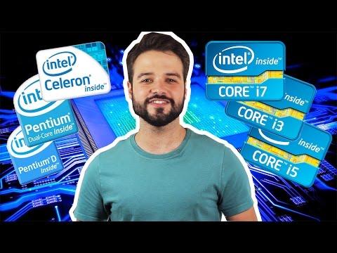 Qual a diferença entre processadores core i3, i5 e i7?   qual melhor processador?