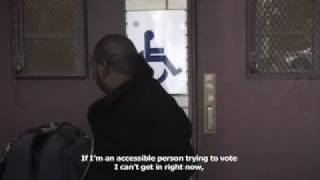 Barriers to Voting for People with Disabilities in New York