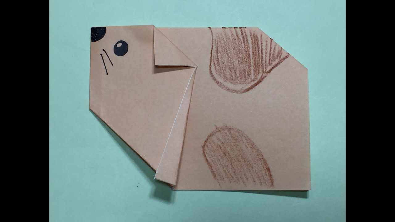how to make a origami hamster