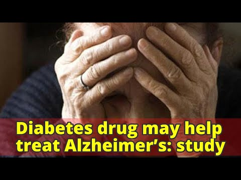 Diabetes drug may help treat Alzheimer's: study