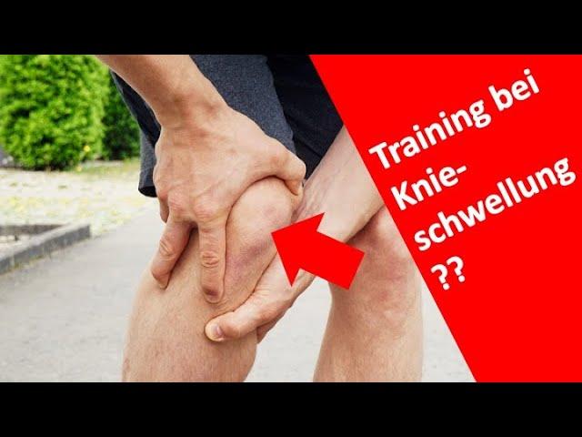 Training nach Knieverletzung?