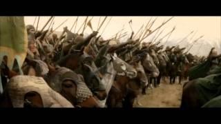Прибытие армии Рохана (lotr)